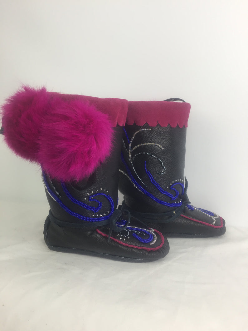 Cute Black Mukluks