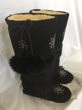 Traditional Black Mukluks