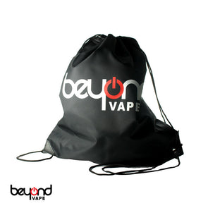 Beyond Vape Drawstring Bag Black