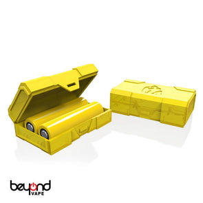 Chubby Gorilla Dual 18650 Battery Case (Yellow)