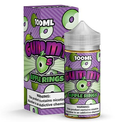Apple Rings by Gummy O's 100mL