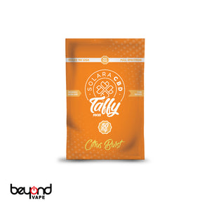 Solara CBD Taffy Citrus Burst 50mg