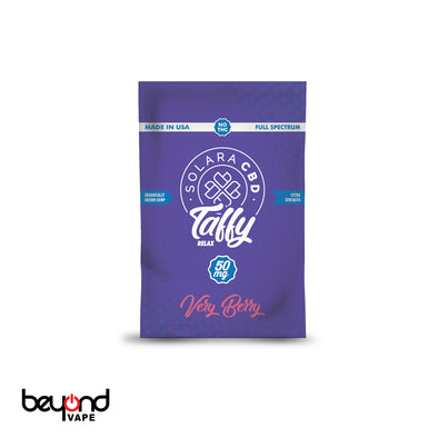 Solara CBD Taffy Very Berry 50mg