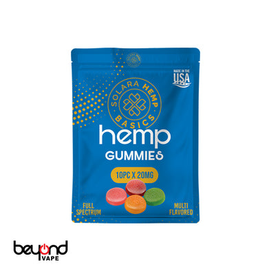 Solara CBD Gummies 20mg 10pcs