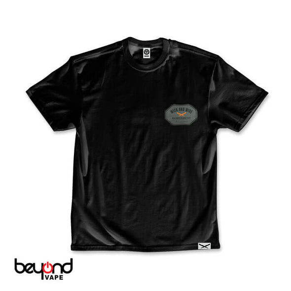 Wick and Wire Octo Tee Black Small