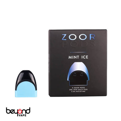Zoor Pods Mint ICE 5% 4-pack