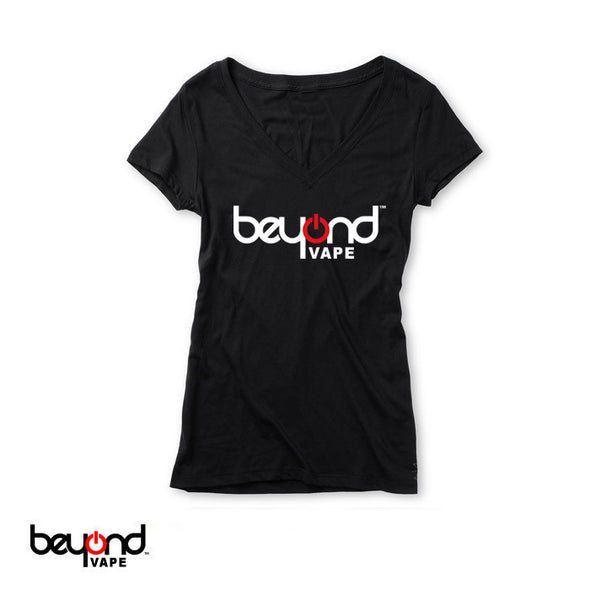 Beyond Vape Women's V Neck Tee