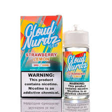 Cloud Nurdz Strawberry Lemon Iced 100ml