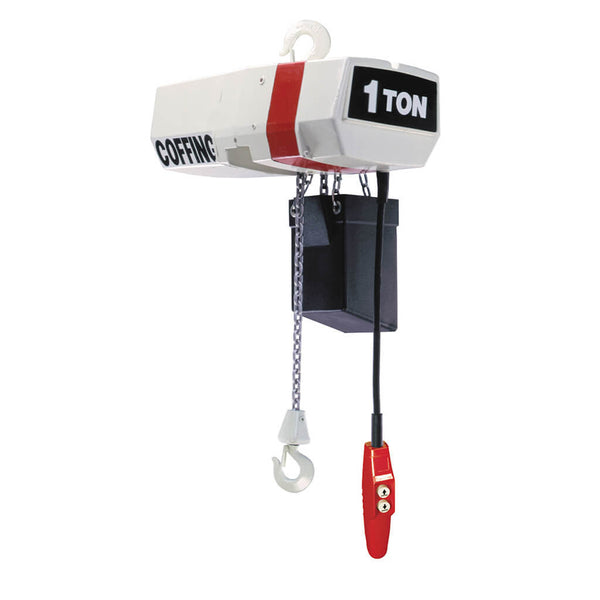 EC Electric Chain Hoist - Geared Trolley
