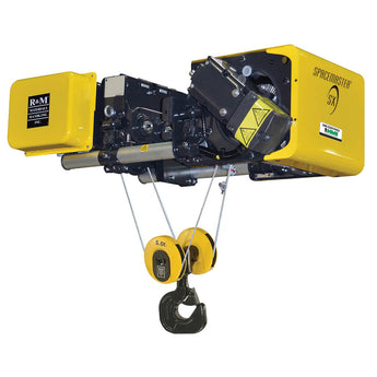R&M Spacemaster SX Monorail Wire Rope Hoist - Low Headroom