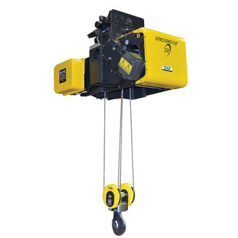 Spacemaster SX Monorail Wire Rope Hoist - Normal Headroom