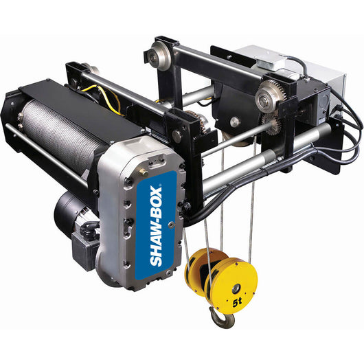 Shaw-Box World Series Wire Rope Hoist