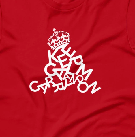 Keep Calm Collapse Funny Stress Short-Sleeve Unisex T-Shirt