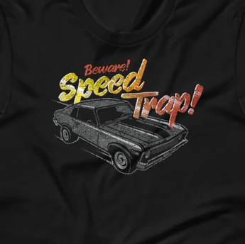 Beware Speed Trap! Hot Rod Street Racing Short-Sleeve Unisex T-Shirt