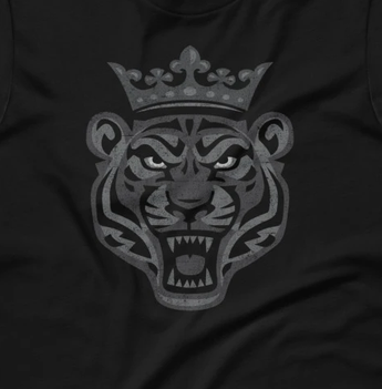 King Tiger Rules! Short-Sleeve Unisex T-Shirt