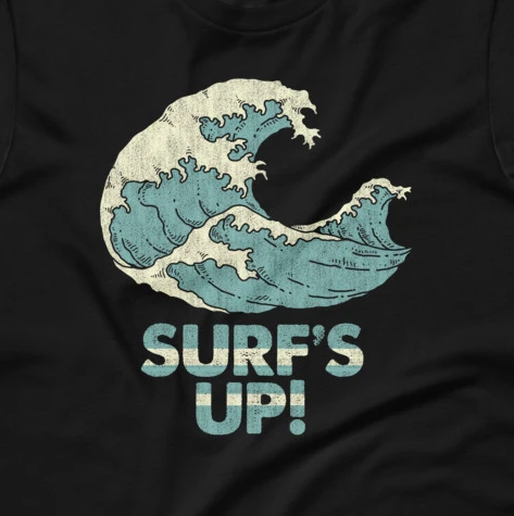 Surf's Up! Short-Sleeve Unisex T-Shirt