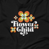 Hippie Chic Flower Child Short-Sleeve Unisex T-Shirt