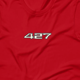 427 Cubic Inch Engine Lover's Short-Sleeve Unisex T-Shirt