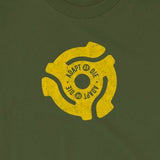 Adapt or Die 45 RPM Vinyl Record Adaptor Unisex T-Shirt