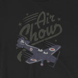 Vintage-Look Airplane Air Show Unisex T-Shirt