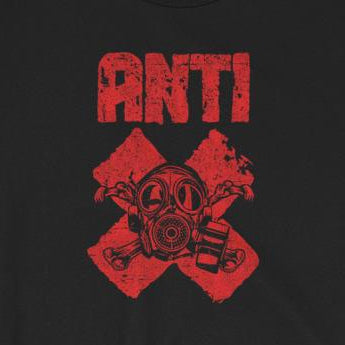"""Anti"" Protest Tee with Gas Mask Short-Sleeve Unisex T-Shirt"