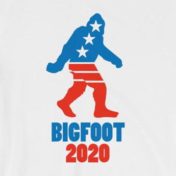 Vote for Bigfoot in 2020 Short-Sleeve Unisex T-Shirt