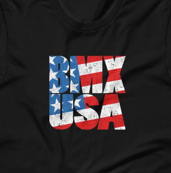 BMX USA Short-Sleeve Unisex T-Shirt