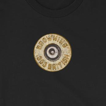 Browning .303 British Shell Casing Unisex T-Shirt
