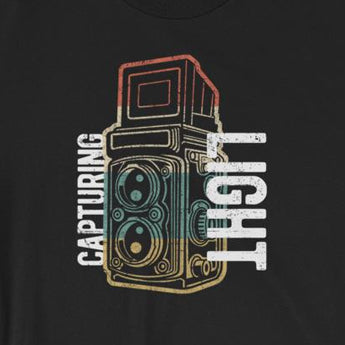 Retro Vintage Themed Capturing Light Photography Short-Sleeve Unisex T-Shirt