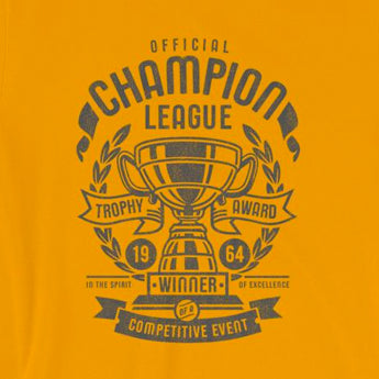 Champion League Funny Vague Athletic Short-Sleeve Unisex T-Shirt