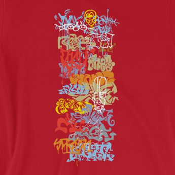 Urban Graffiti Street Art Unisex T-Shirt