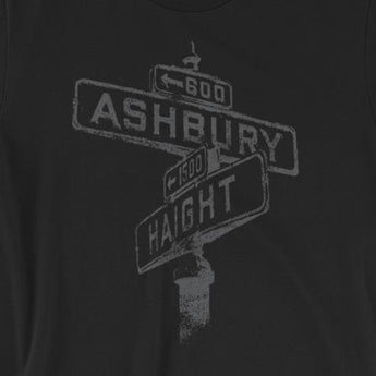 Haight Ashbury Hippie Summer of Love Short-Sleeve Unisex T-Shirt