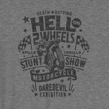 "Thrills & Spills Hell on 2 Wheels"" Short-Sleeve Unisex T-Shirt"