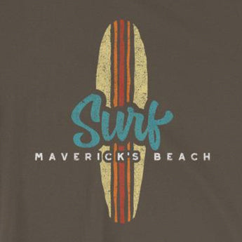 Surf Maverick's Beach Short-Sleeve Unisex T-Shirt