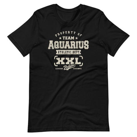 Zodiac Aquarius Athletic Dept. Short-Sleeve Unisex T-Shirt