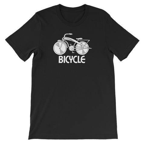 ArtBitz Unisex Retro Bicycle Tee, Biking T-Shirt