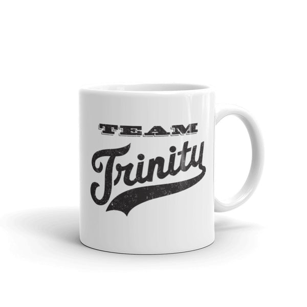 """Team Trinity"" Mug, God's Own Team Logo"