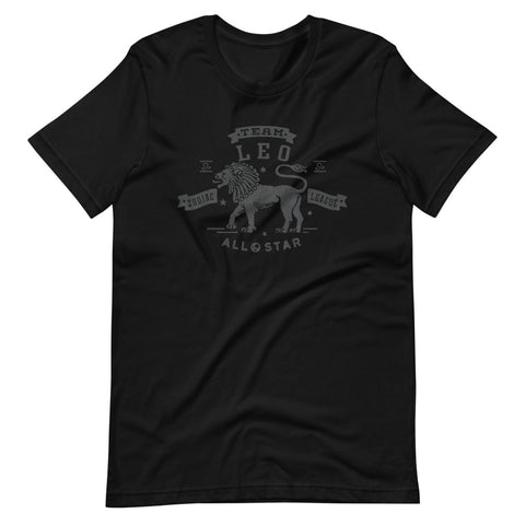 Zodiac Leo Athletic Dept. Short-Sleeve Unisex T-Shirt