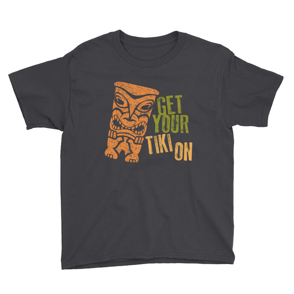 """Get Your Tiki On"" Unisex Kids Tee"