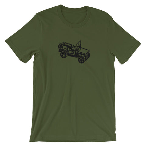 Jeep 4x4 Off Road Hero Short-Sleeve Unisex T-Shirt