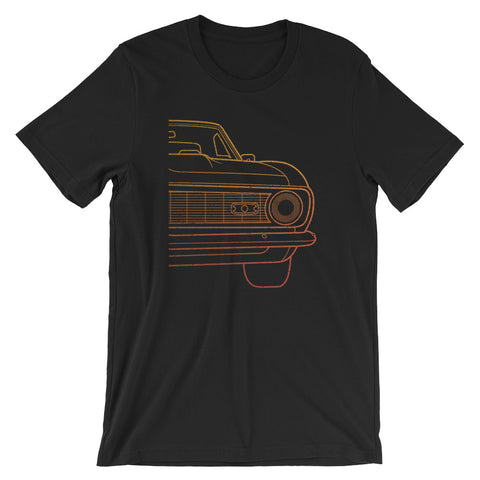 Vintage Muscle Car Classic American Iron Short-Sleeve Unisex T-Shirt