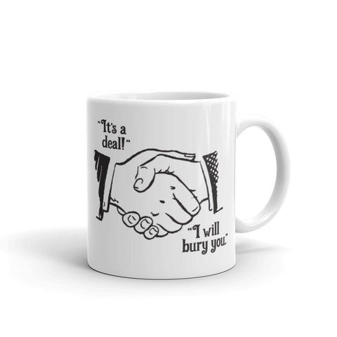 """The Handshake"" Mug"