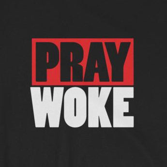 Pray Woke Christian Prayer Short-Sleeve Unisex T-Shirt