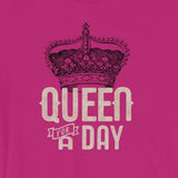 Queen for a Day Crown Short-Sleeve Unisex T-Shirt