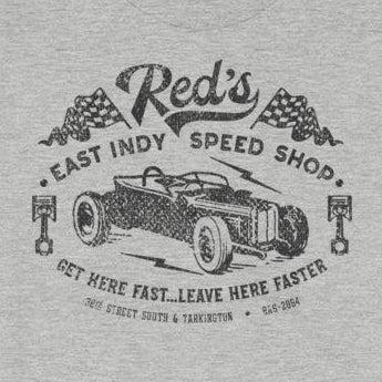 Vintage-Look Hot Rod Speed Shop Short-Sleeve Unisex T-Shirt
