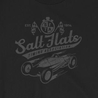 Distressed Vintage-Look Salt Flats Timing Association Unisex T-Shirt