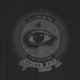 Lorem Ipsum Secret Society Funny Short-Sleeve Unisex T-Shirt