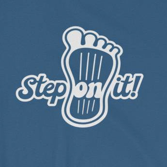Step On It Retro Style Car Lover's Short-Sleeve Unisex T-Shirt