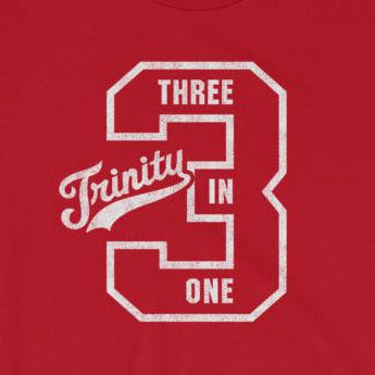 Holy Trinity Three in One Christian Gift Short-Sleeve Unisex T-Shirt