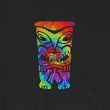 Tie-Dye Tiki Summer Fun Beach Short-Sleeve Unisex T-Shirt
